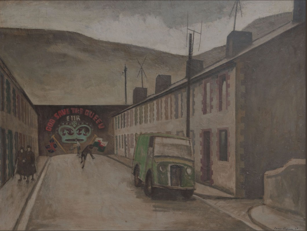 1959, oil on canvas, 95 × 120 cm. Collection of Goldmark Gallery, Uppingham.