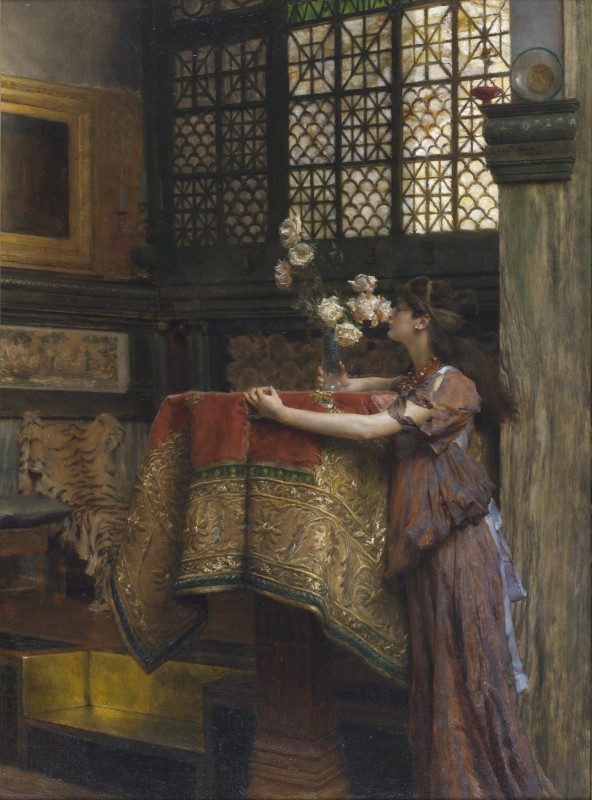 1893, oil on canvas, 59.8 x 44.5 cm. Collection of Ann and Gordon Getty.