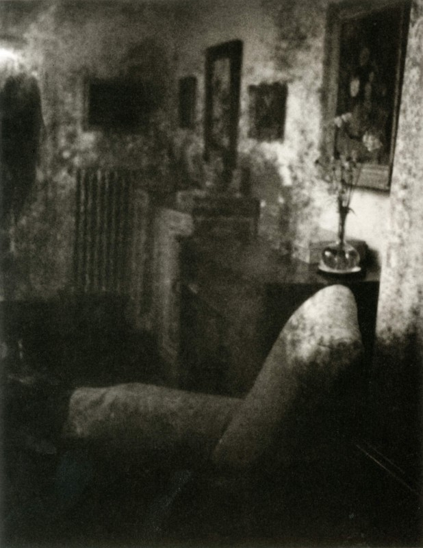 (also published as <i>The Pitted Mirror, East Sussex, England</i>), 2003, gelatin silver print.