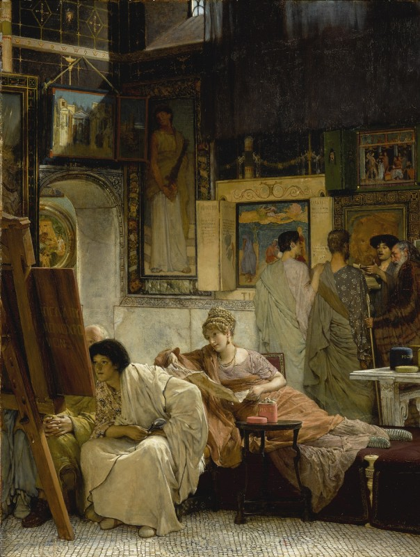 1873, oil on panel, 76.2 x 59.1 cm. Private Collection.