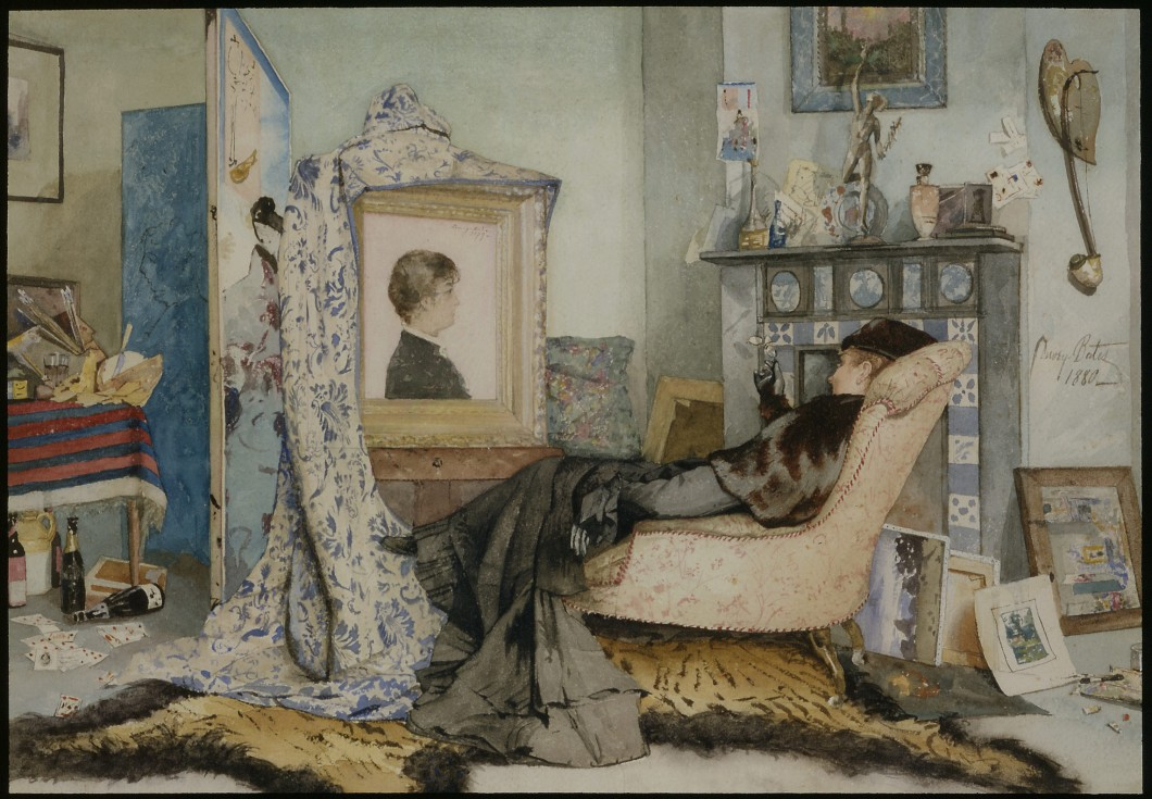 1880, watercolour on paper, 22.9 x 33 cm. Private Collection.