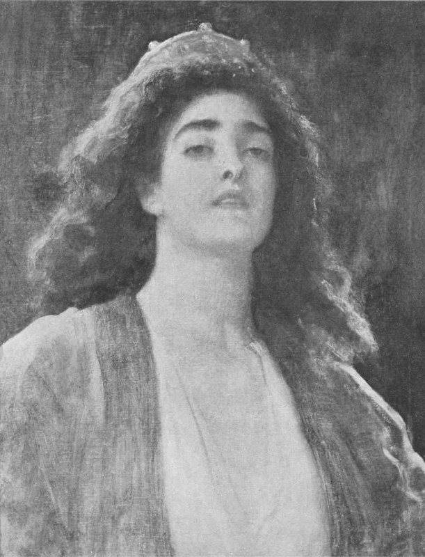 unfinished, 1896, in <i>The Life, Letters and Work of Frederic Baron Leighton of Stretton</i> by Emilie Barrington, Vol. 2, between page 324 and 325 (New York: Macmillan Company, 1906).