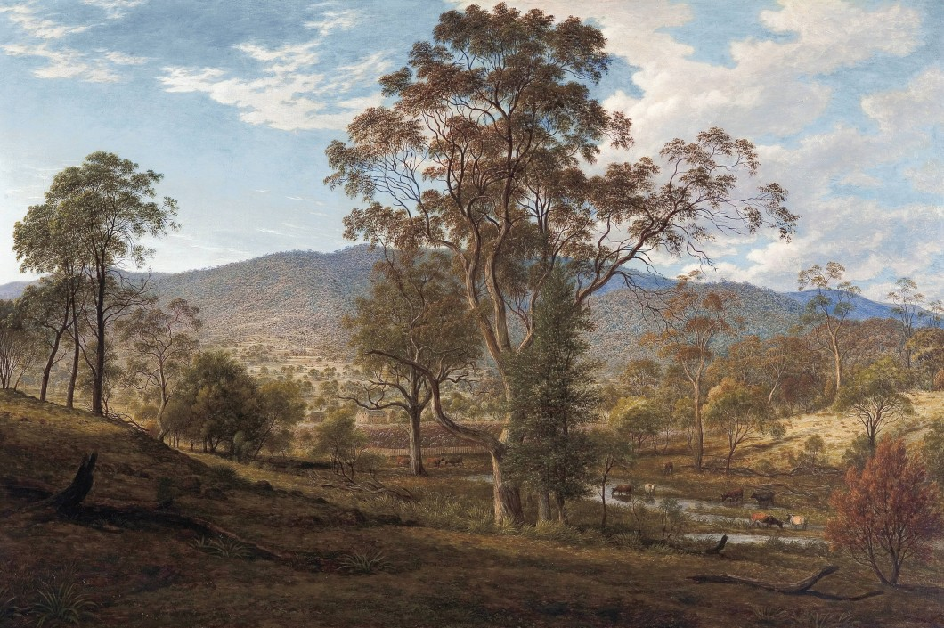 View of Mill's Plains, Van Diemen's Land