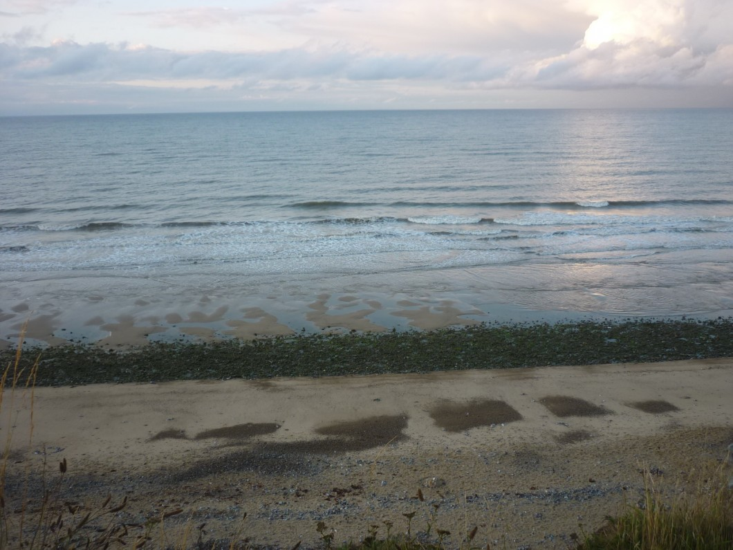 View from Seaview caravan park, East Runton, Norfolk