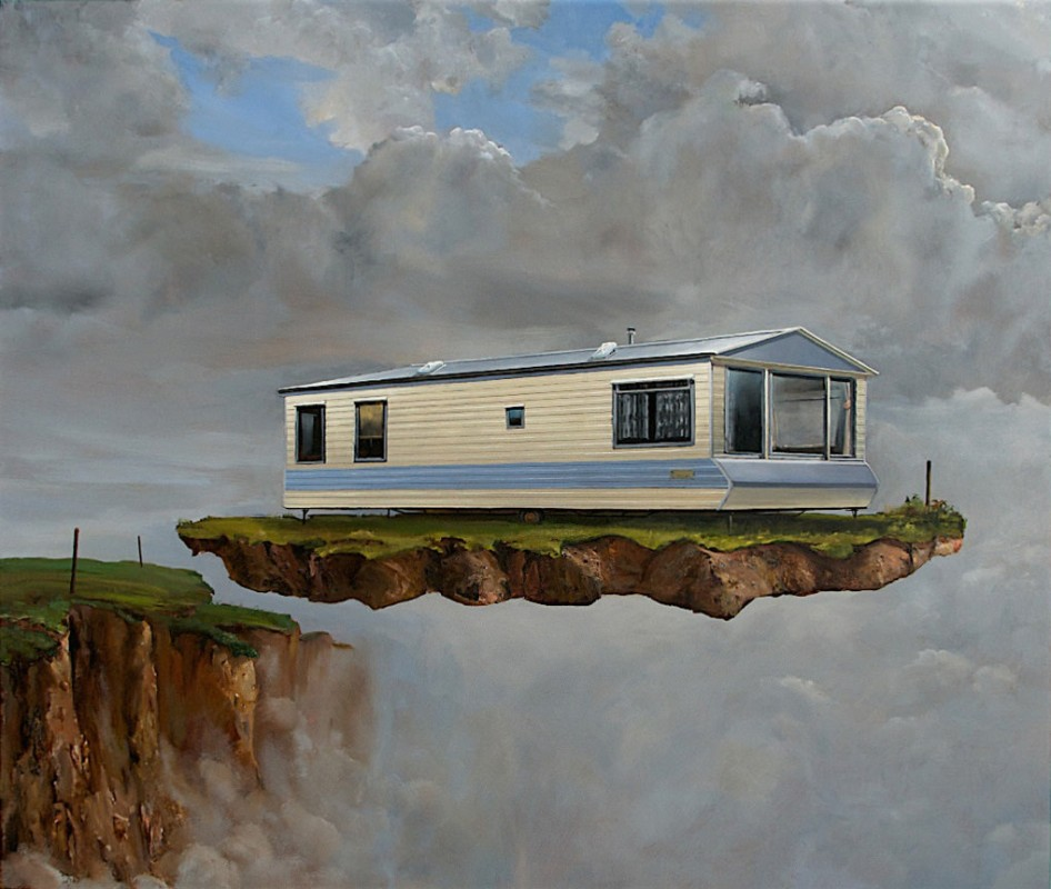 2010, oil on panel, 103 x 122 cm.