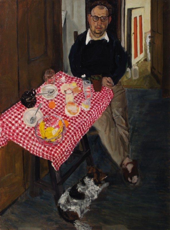 1954, oil on canvas, 122 x 91.4 cm. Collection of Royal Academy of Arts (03/850).