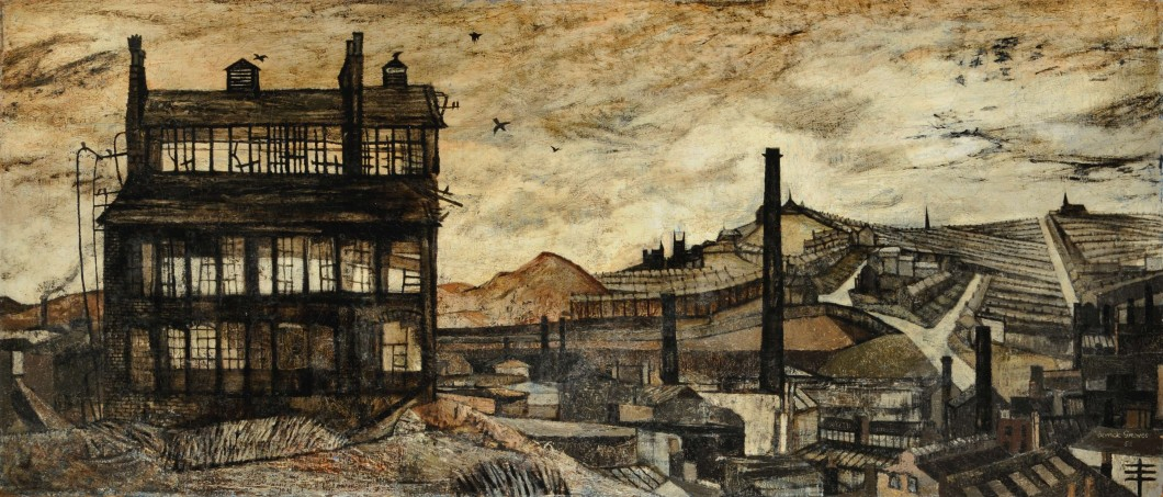 1953, oil on canvas, 93.6 x 210.5 cm. Collection of Museums Sheffield (VIS.4586).