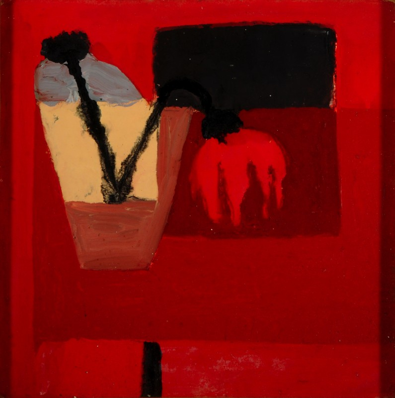 1958, oil on board, 39.4 x 39.1 cm. Collection of Museums Sheffield (VIS.4951).