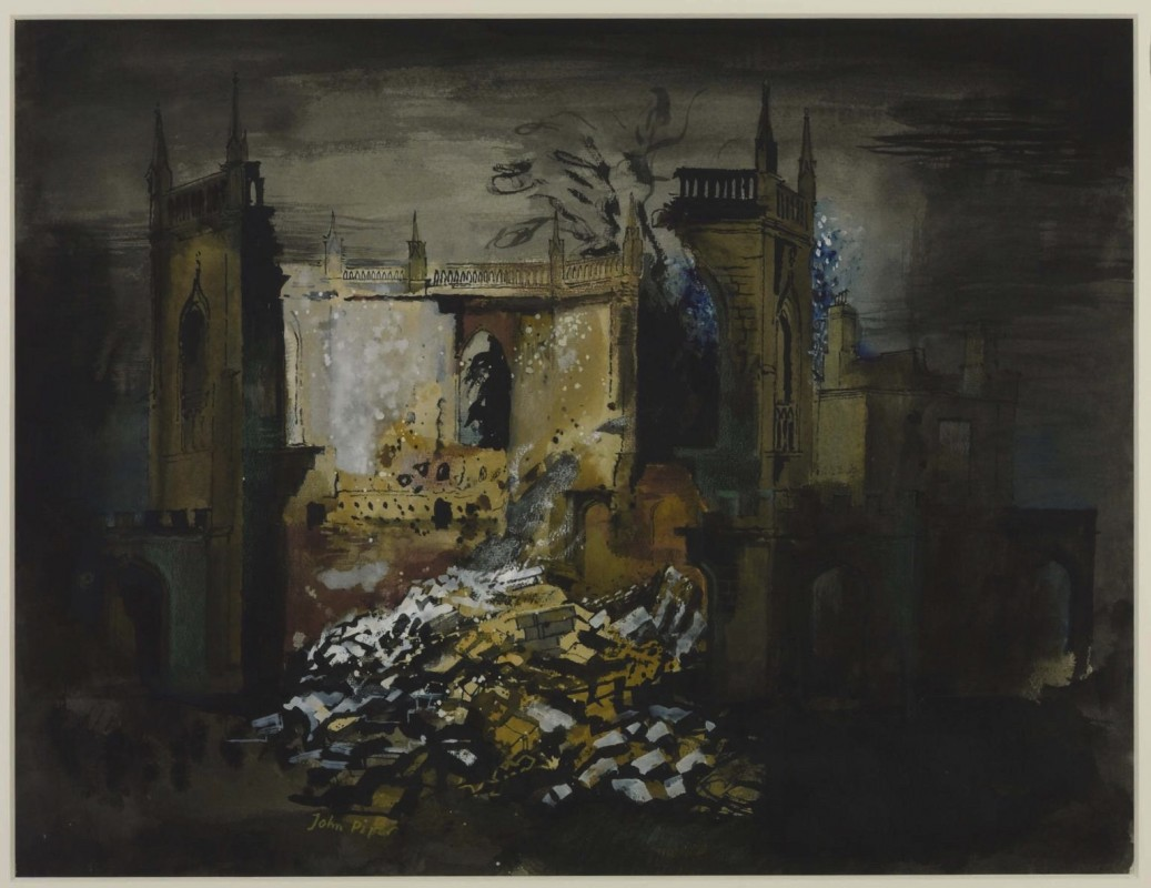1942, ink, chalk, gouache, and watercolour on paper, 42.5 x 55.9 cm.