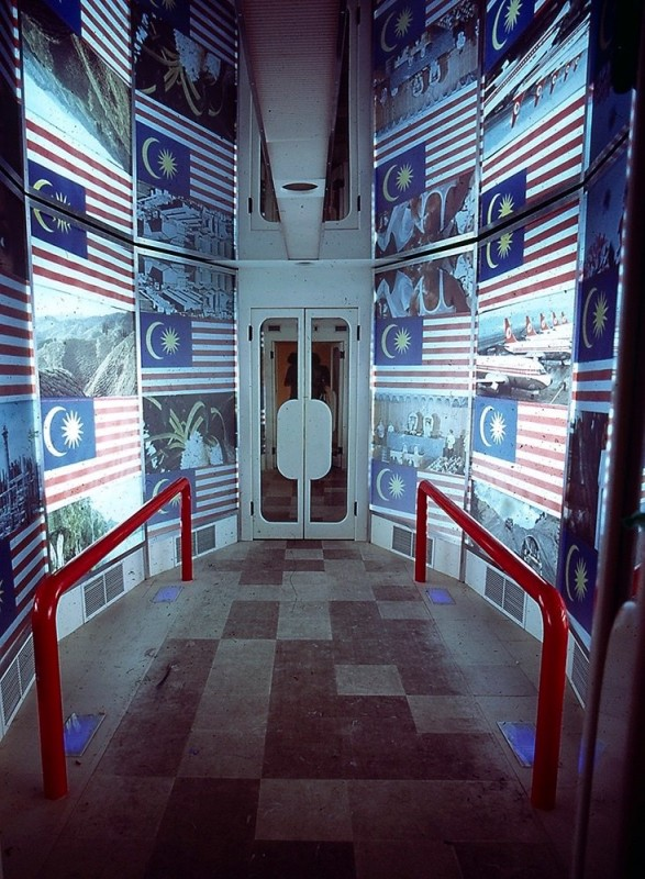 """Instant Malaysia"" exhibition, inside the simulator"