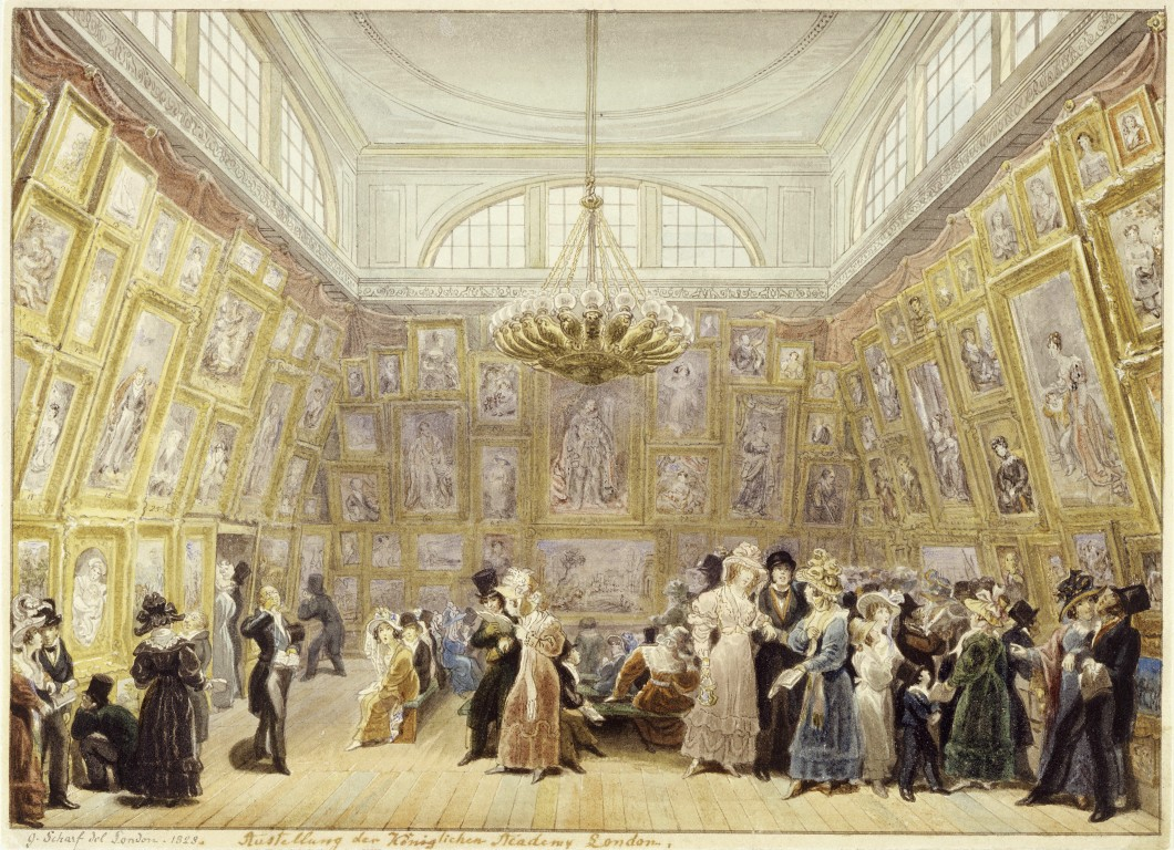 The Royal Academy Exhibition of 1828