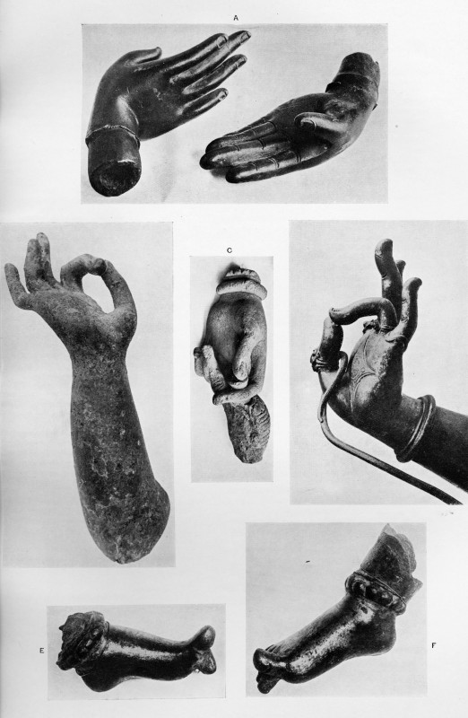 Finger and toe postures in ancient and medieval Indian sculptures