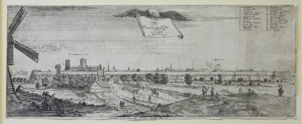 1673–83, etching, 18.4 x 47.4 cm. Collection of York Museums Trust (YORAG: R1988).