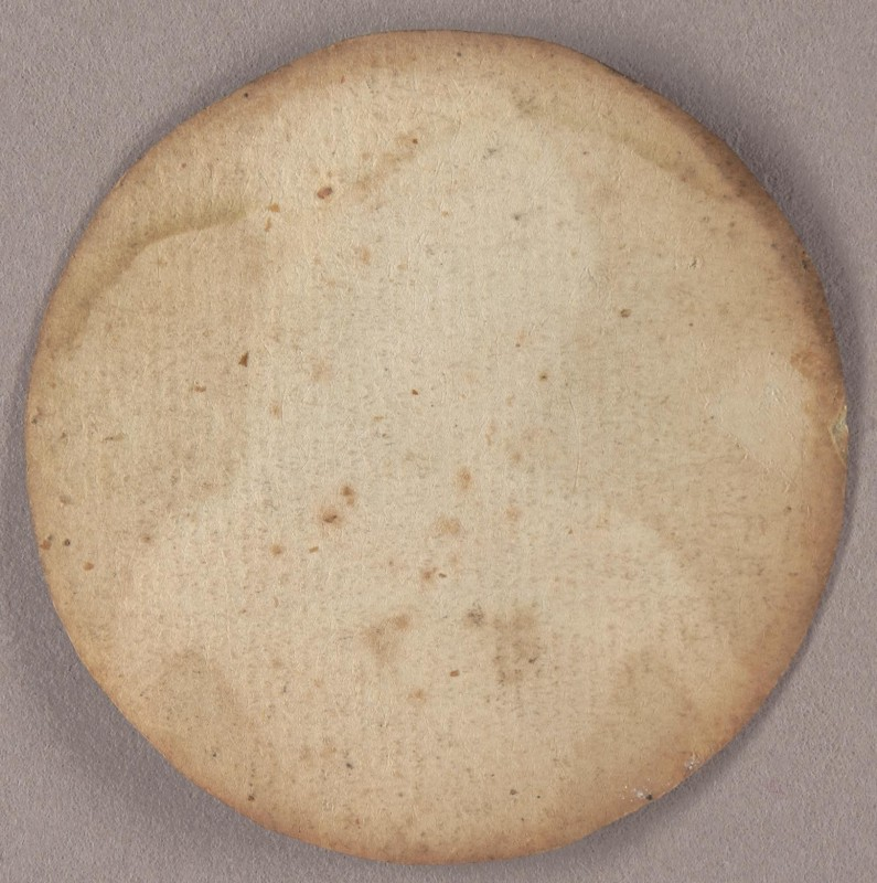 Portrait of an Unknown Lady (reverse)