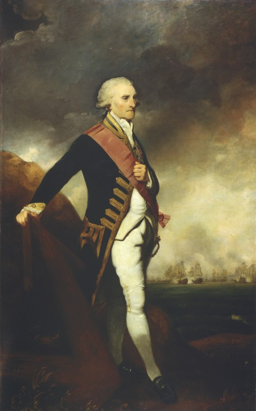 Admiral Lord George Brydges Rodney (1719–1792), 1st Baron Rodney