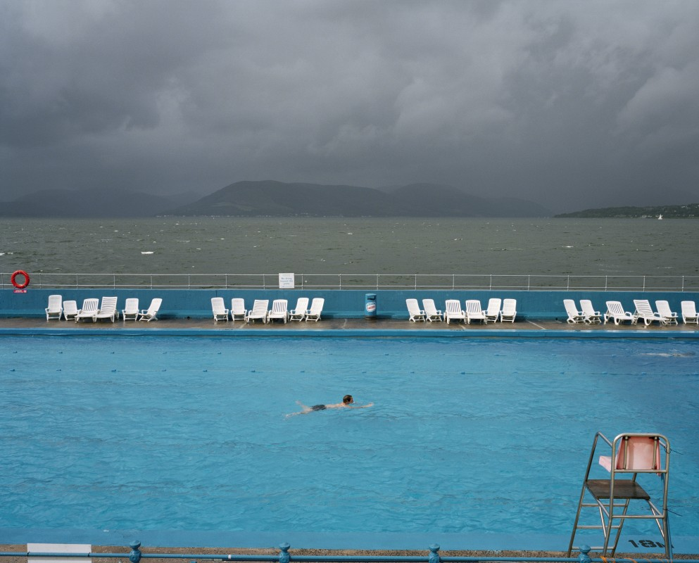 Gourock Lido, Scotland, UK