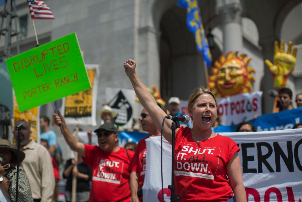 US-Energy-Fuel-Fossil Protest