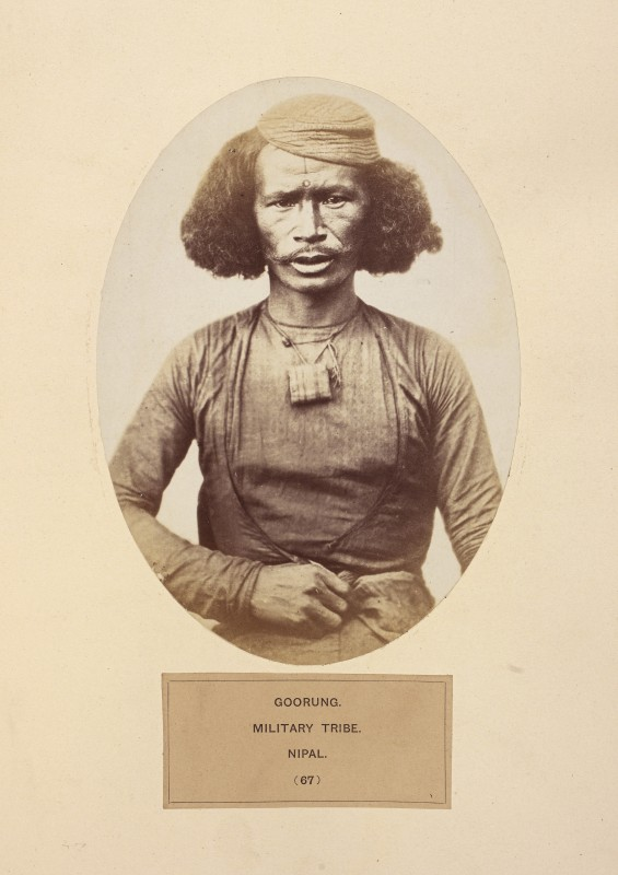 in Sir John William Kaye and John Forbes Watson, <i>The People of India: A Series of Photographic Illustrations, with Descriptive Letterpress, of the Races and Tribes of Hindustan</i>, 8 vols. (London: India Museum, 1868–75). British Library, (IOL.1947.c.344)