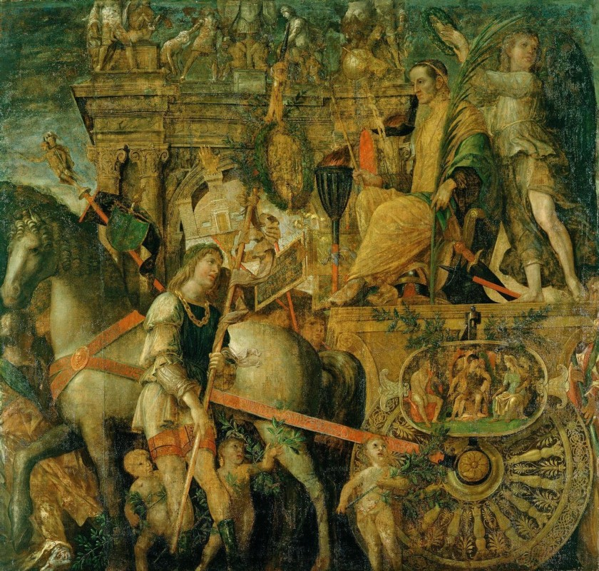 The Triumphs of Caesar: Scene 9, Caesar on his Chariot