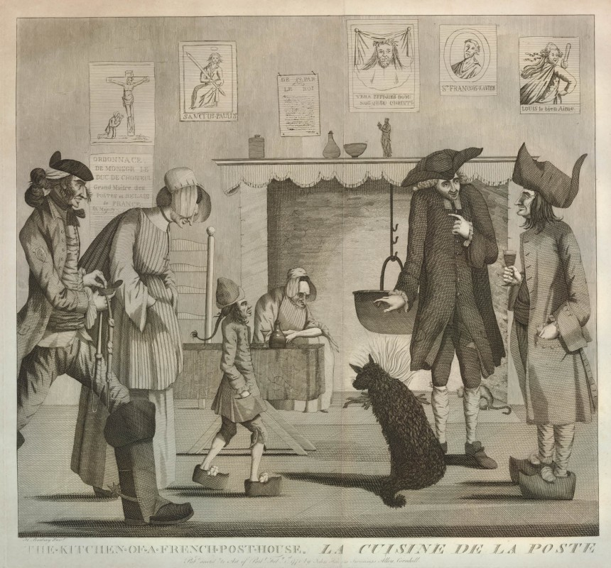 1771, etching and engraving, 41.1 x 44 cm. Collection of the British Museum (J,6.2)