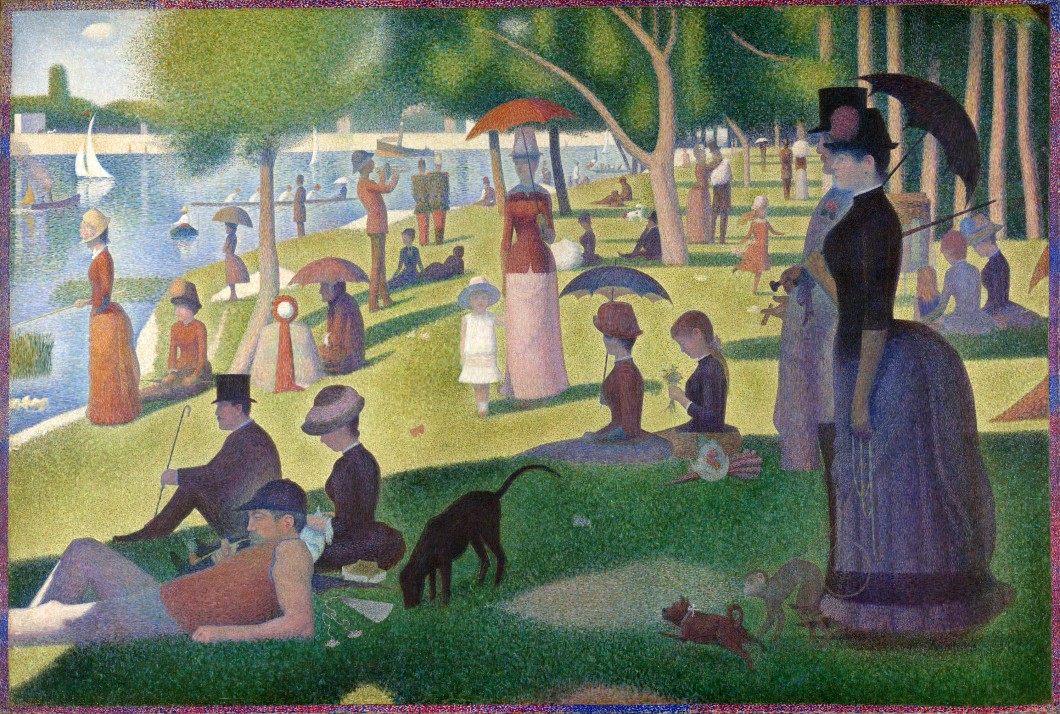 A Sunday on La Grande Jatte—1884