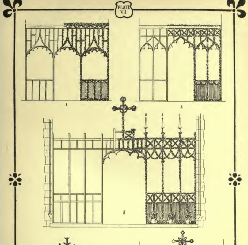 from <i>A Manual of Church Decoration and Symbolism</i> by Ernest Geldart (London: A. R. Mowbray & Co, 1899).