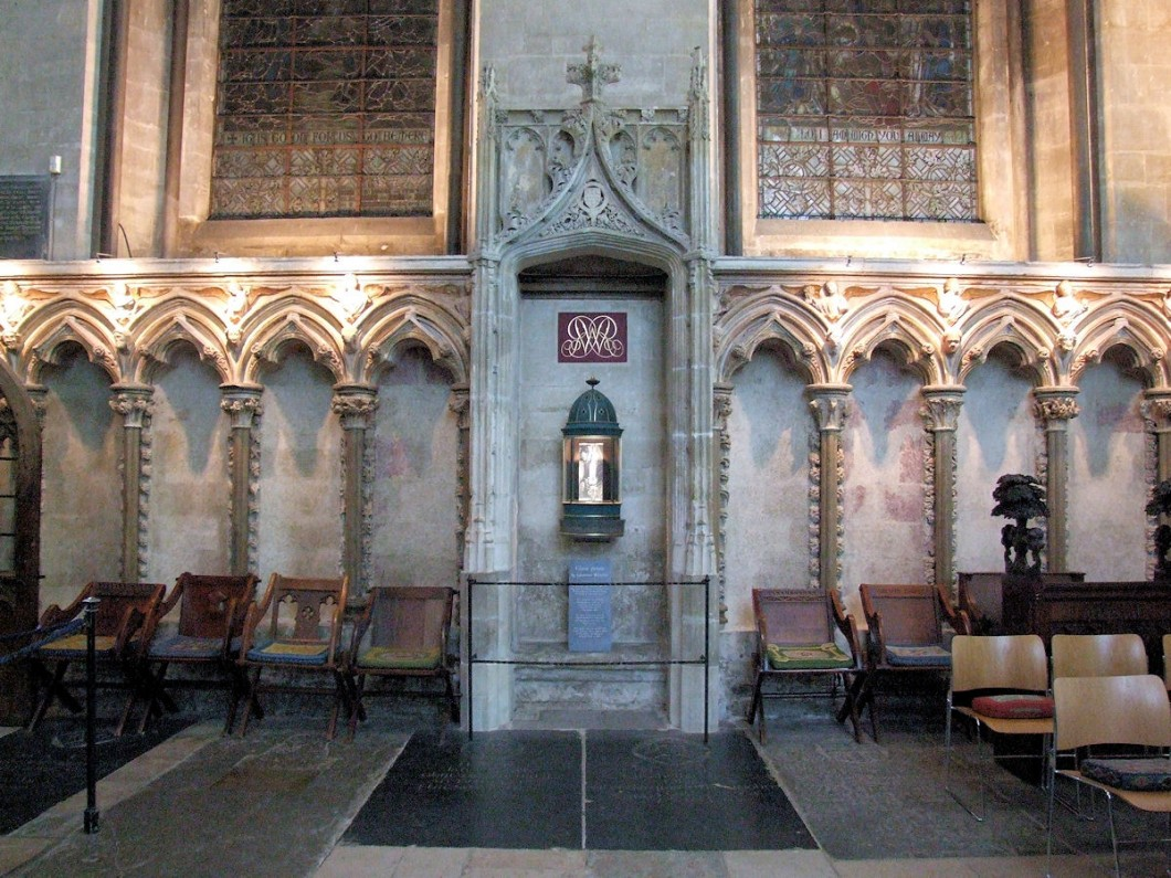Original Morning Chapel Choir Screen