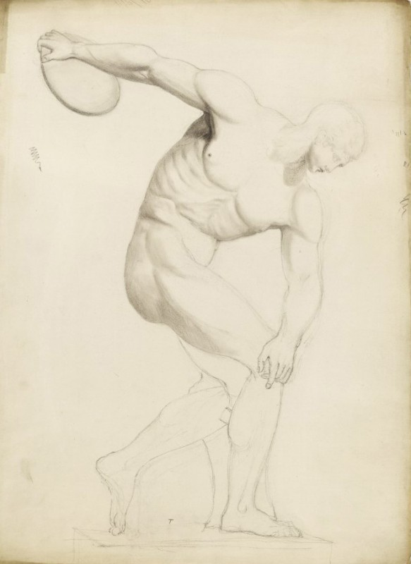 1791–1805, drawing, 48 x 35 cm. Collection of the British Museum.