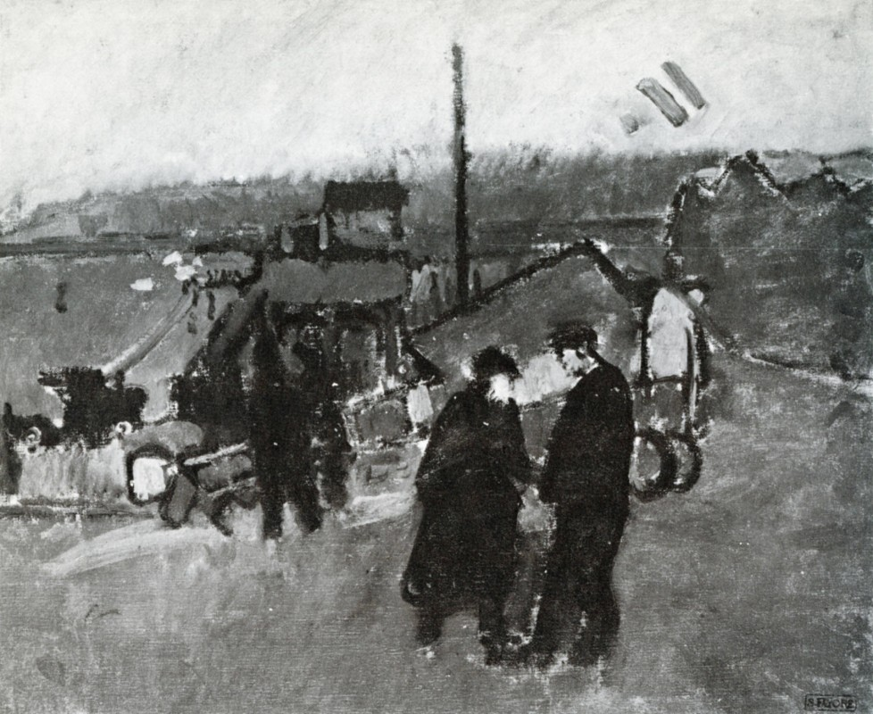 1912, oil on canvas, 50 x 60 cm. Location unknown.