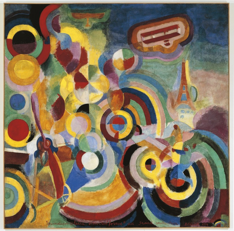 1914, tempera on canvas, 250 x 251 cm. Collection of Kunstmuseum, Basel.