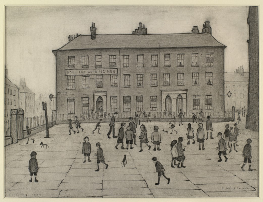 1929, pencil on paper, 28 x 38 cm. Collection of the British Council.