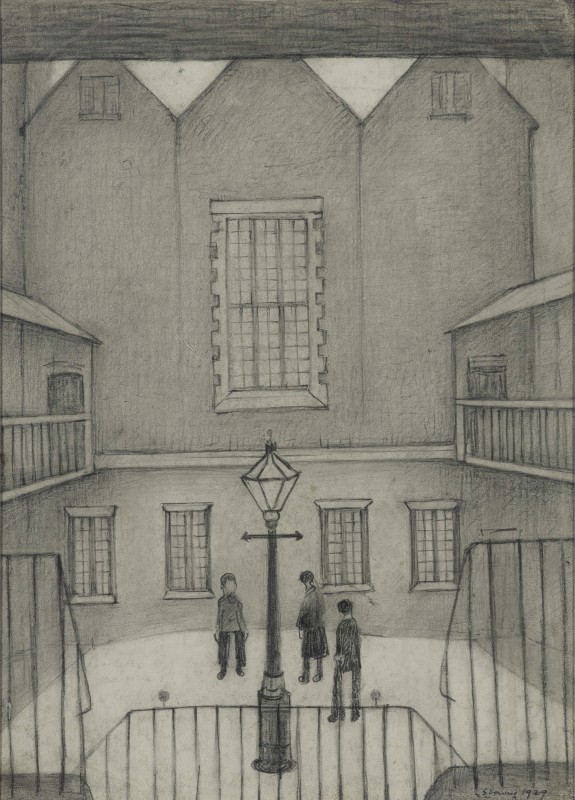 1929, pencil on paper, 38 x 27 cm. Private Collection.