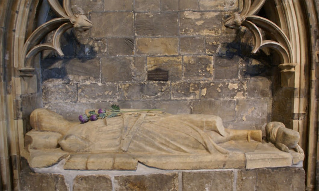 Effigy of the 5th Earl of Douglas