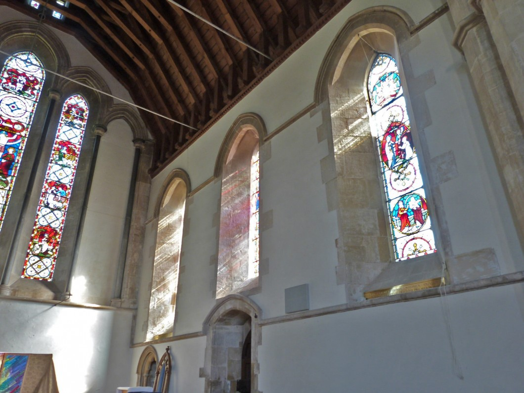 Interior of the chancel, Parish Church of St Mary and former prebendal church