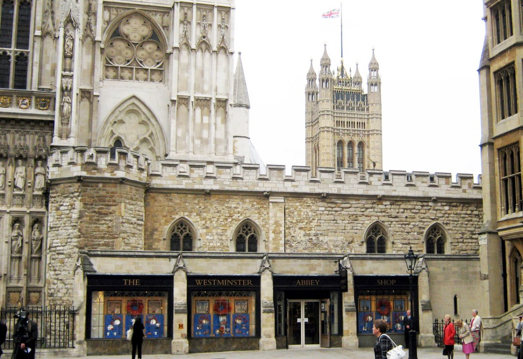 Westminster Abbey, ca. 1362–79, restored 1867–73.