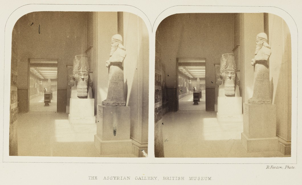 The Assyrian Gallery, British Museum