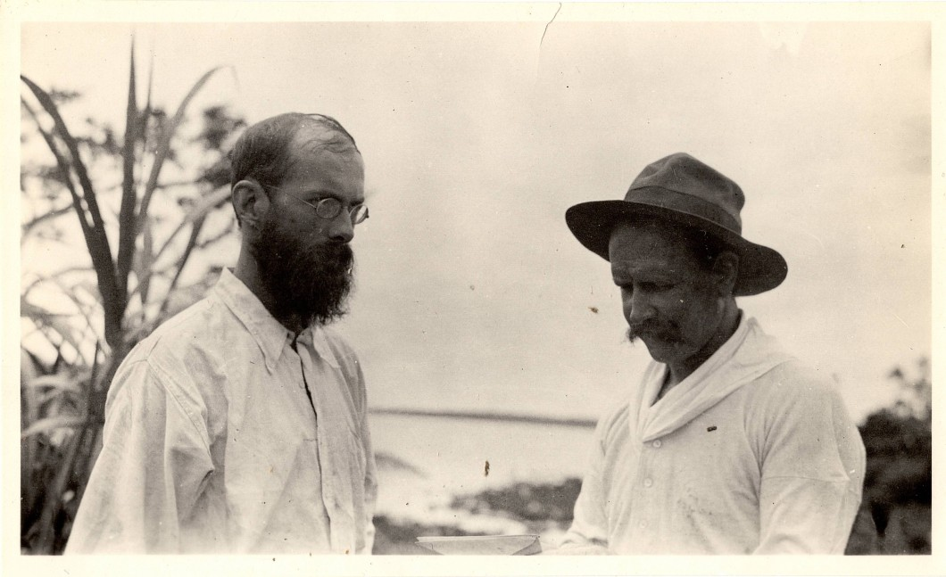 Branislaw Malinowski and Billy Hancock