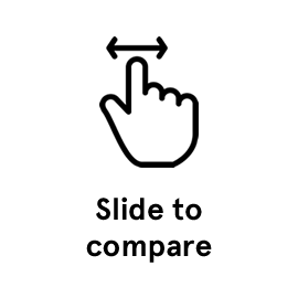 Slide to compare